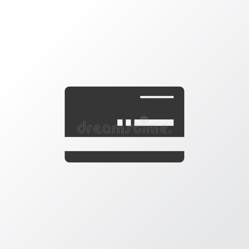 Bank karty ikony symbol Premii ilości Mastercard element W Modnym stylu royalty ilustracja