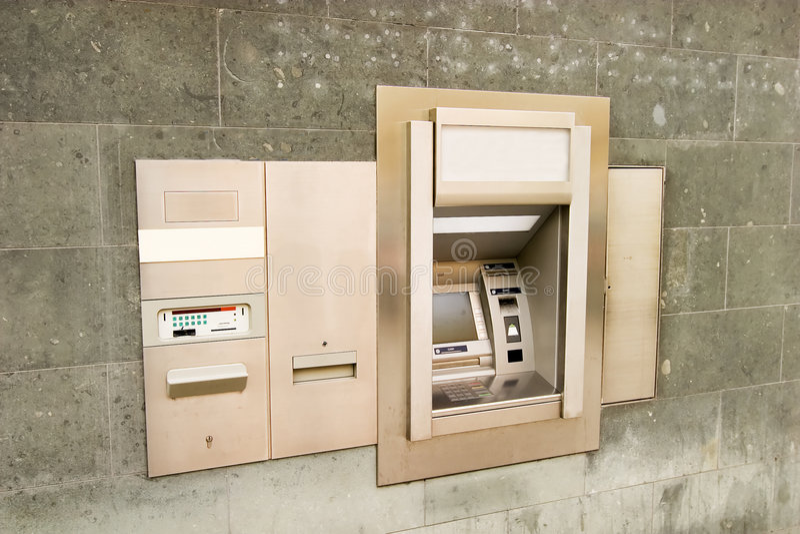 Bank Machine stock photos