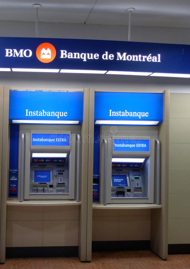 Bank of montreal royalty free stock images