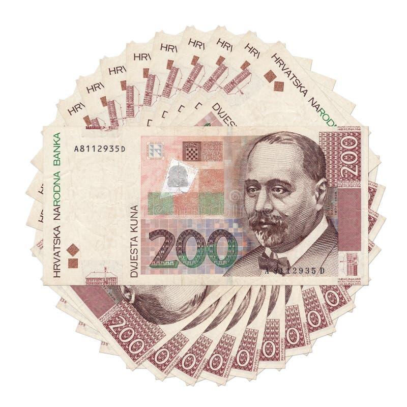 Bank notes stock image