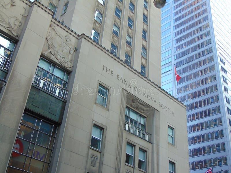 The Bank of Nova Scotia royalty free stock photography
