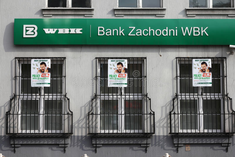 Download Bank in Poland editorial stock photo. Image of poland - 20860213