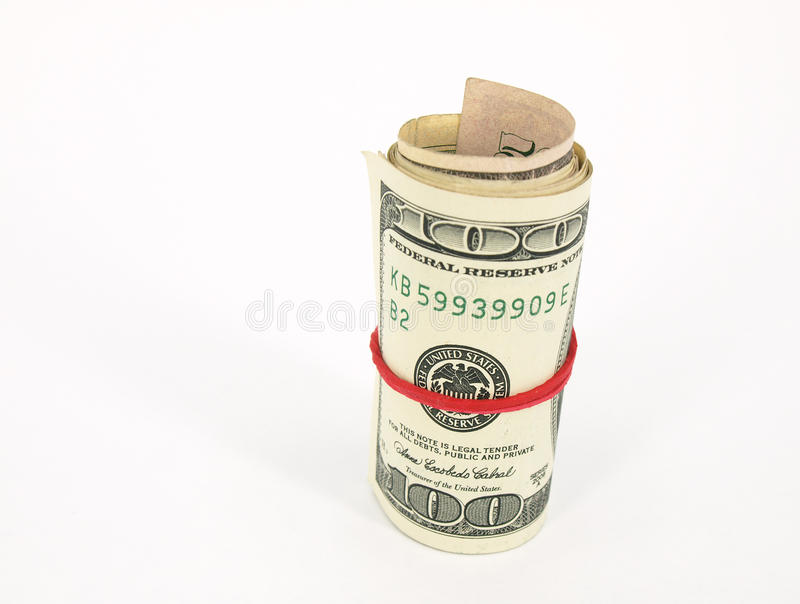 Bank Roll Stock Photo