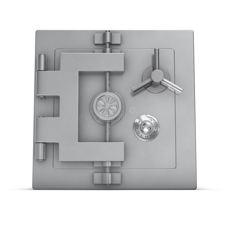 Bank safe royalty free illustration