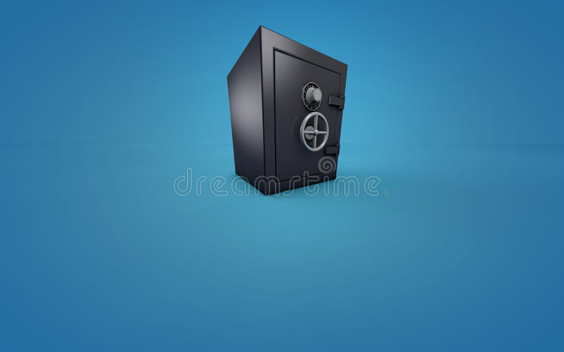 Bank vault or safe stock images