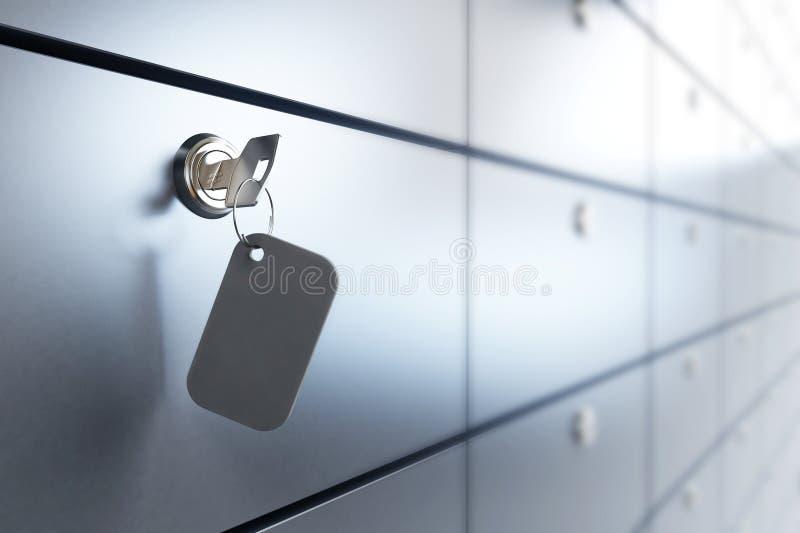 bank safen royaltyfri foto
