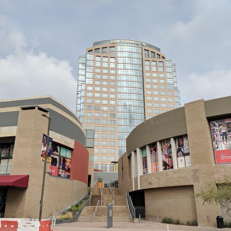 Bank van de Toren van Amerika, Phoenix de stad in, AZ stock foto's