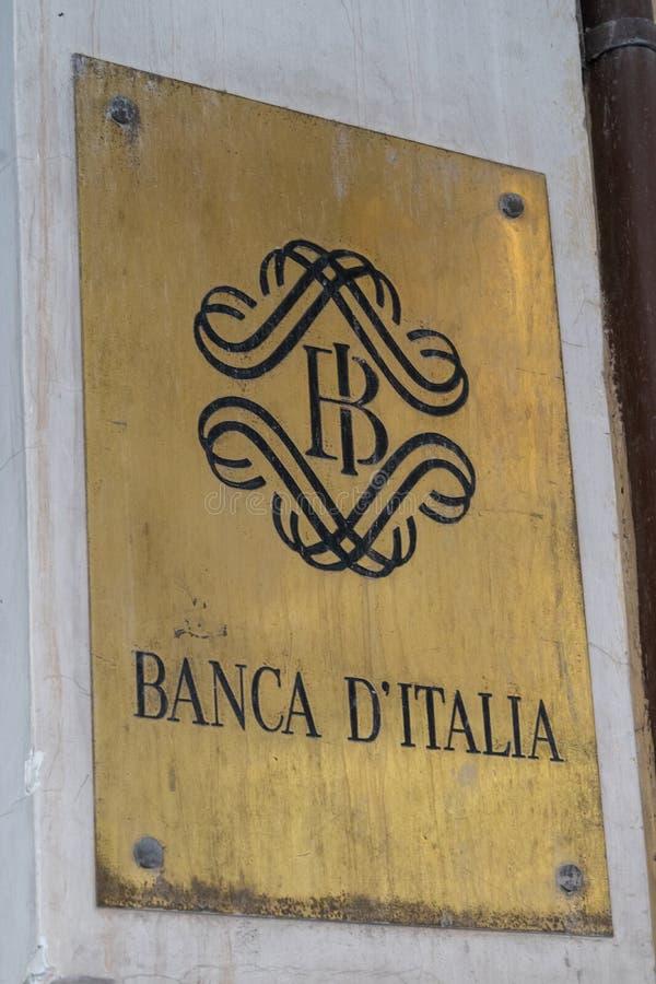 Bank van Italië royalty-vrije stock foto's