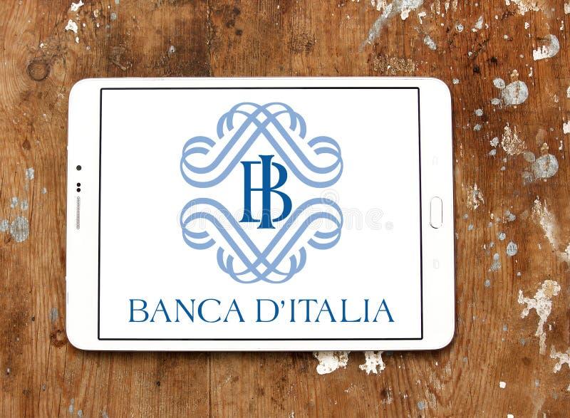 Bank van Italië, Banca D ` Italië, embleem royalty-vrije stock afbeelding