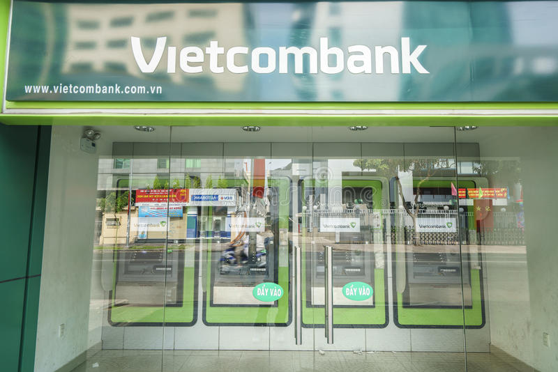 Bank of Vietnam - Vietcombank stock images