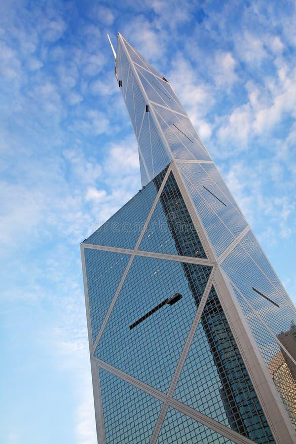 Bank von Chinagebäude stockbild