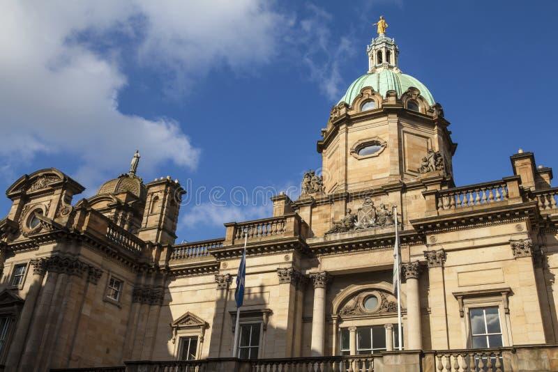 Bank von Schottland in Edinburgh stockfotografie