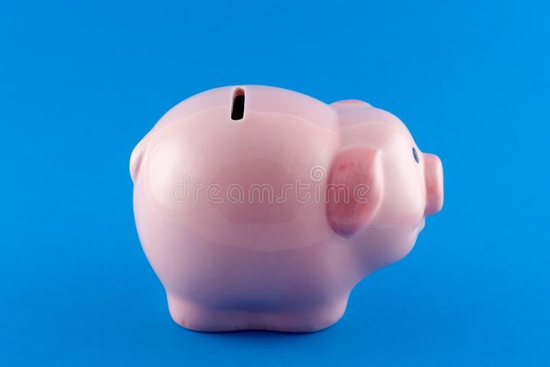 Bank świnki Strona Fotografia Stock