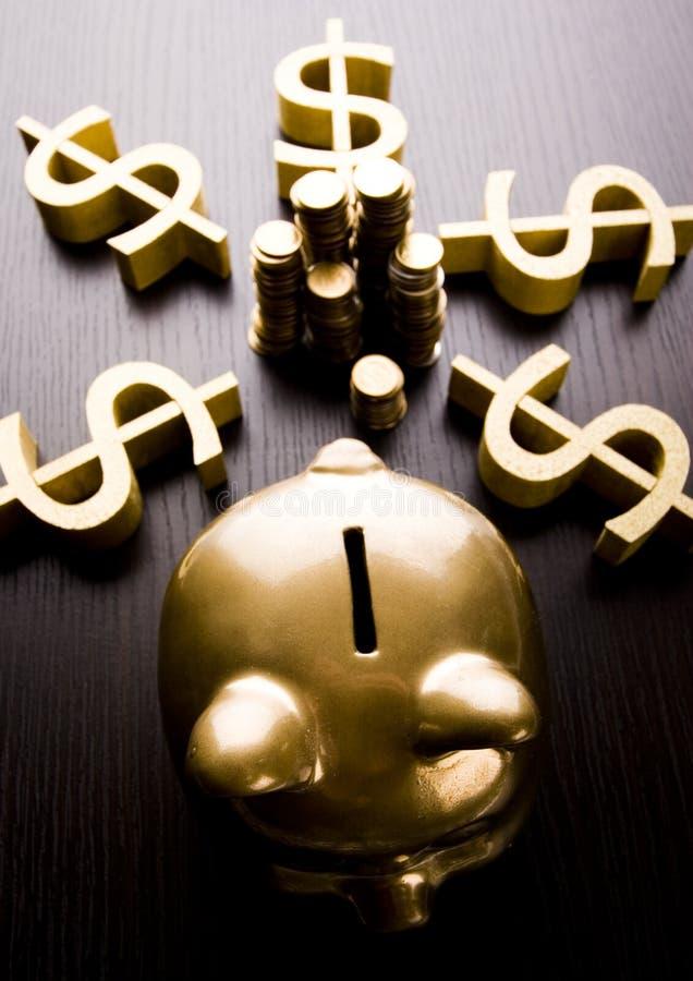 bank złota świnka obrazy stock