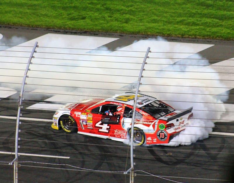 Banka Amerykańskiego 10-11-14 NASCAR zwycięzca obraz stock