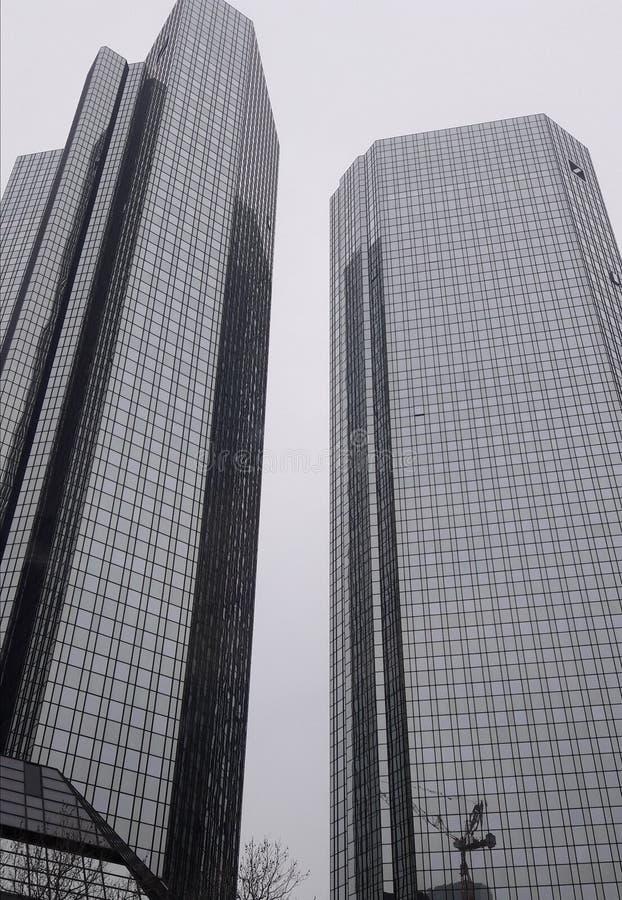 banka deutsche Frankfurt obrazy royalty free