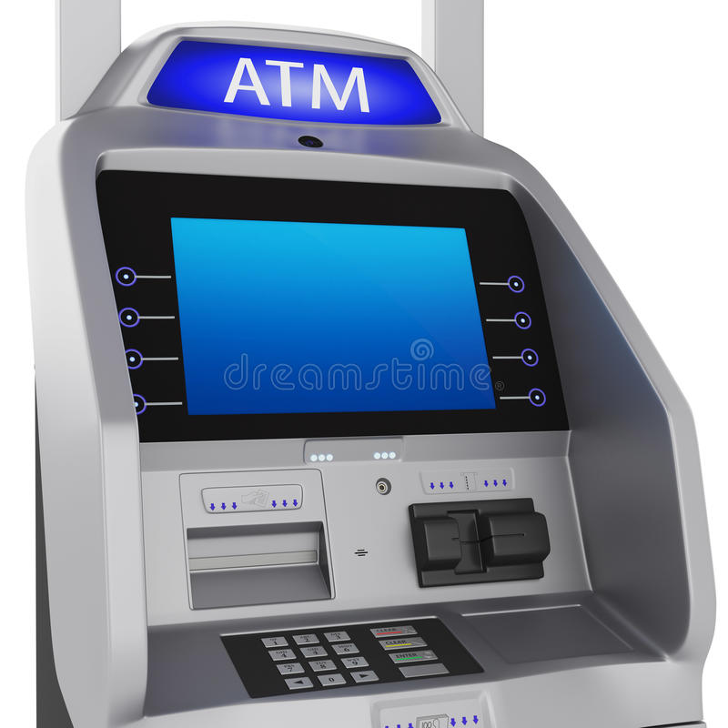 Download Banka terminal ilustracji. Ilustracja złożonej z zapłata - 53781254