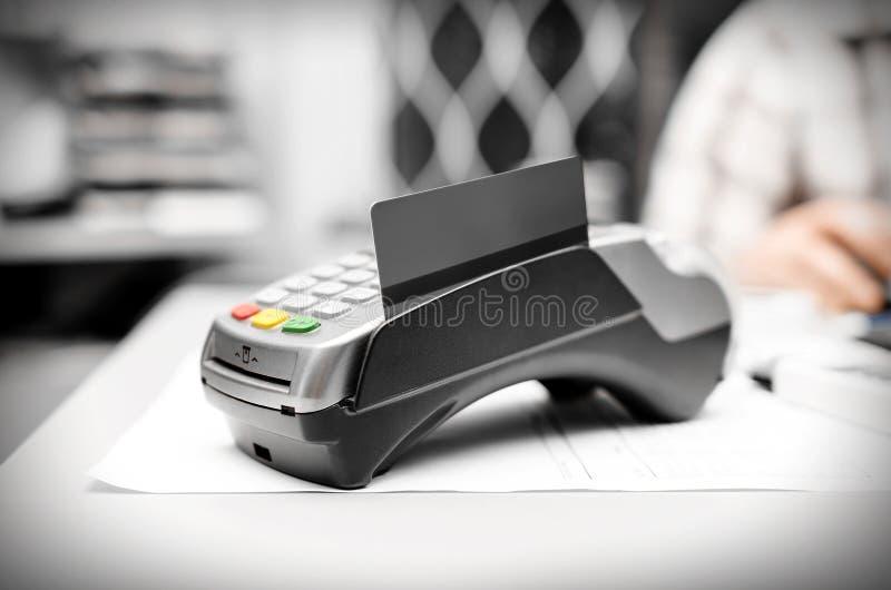 Bankanschluß stockfotografie