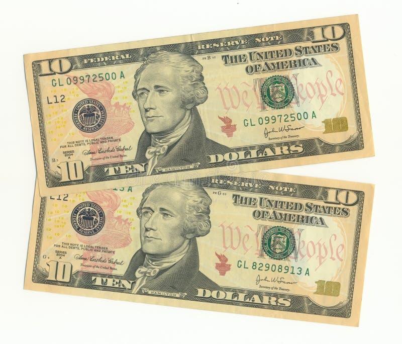 Bankbiljetten stock afbeelding