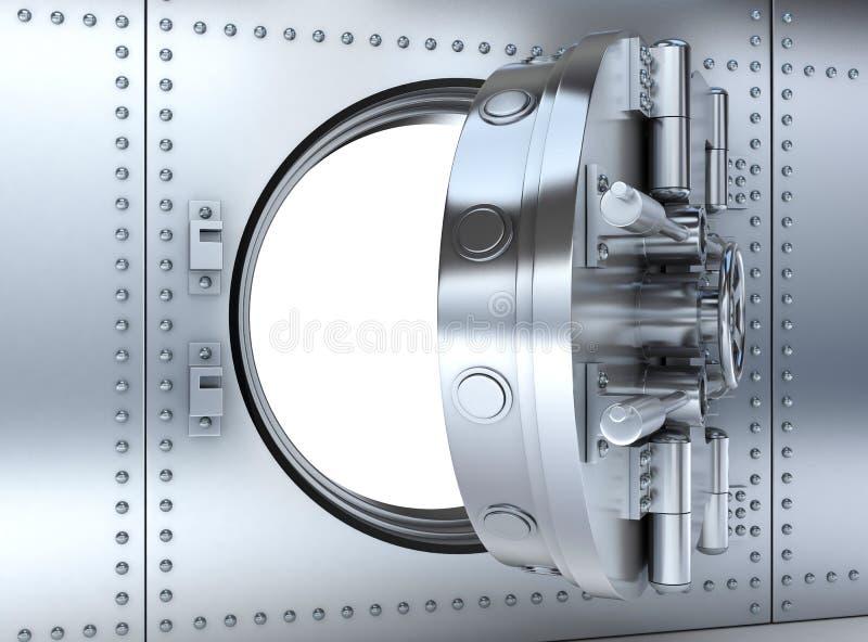 Bankdeur vector illustratie