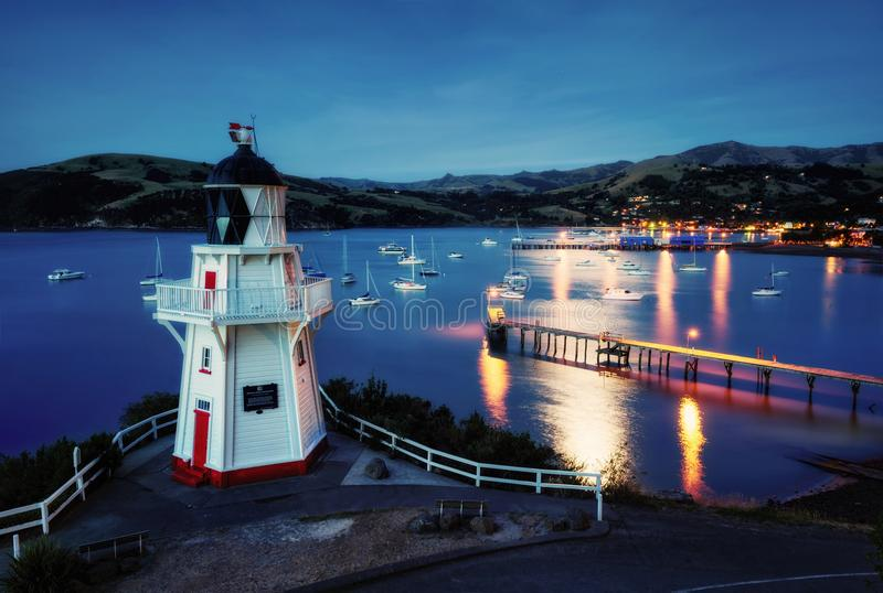 Bankenschiereiland Christchurch Nieuw Zeeland stock fotografie