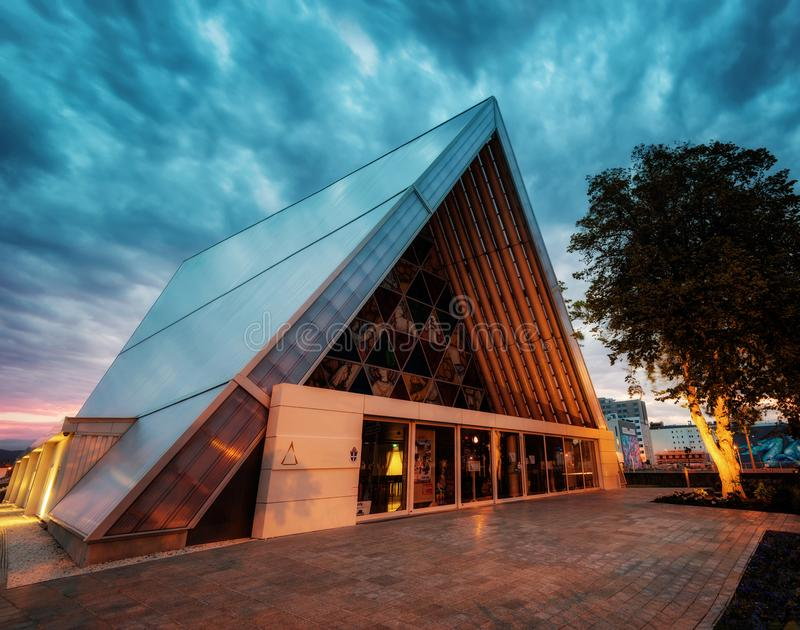 Bankenschiereiland Christchurch Nieuw Zeeland royalty-vrije stock afbeeldingen