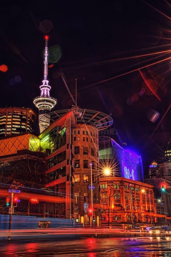 Bankenschiereiland Christchurch Nieuw Zeeland royalty-vrije stock foto's