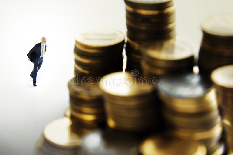 Banker royalty free stock photography