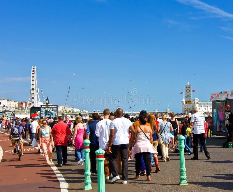 Bankfeiertag In Brighton Redaktionelles Stockfoto