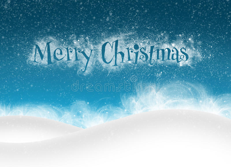 Bankground de la Feliz Navidad stock de ilustración