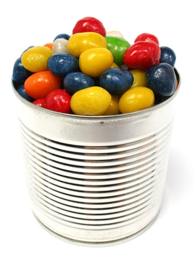 banki kolorowym metal rodzynki wielo- sweet fotografia stock