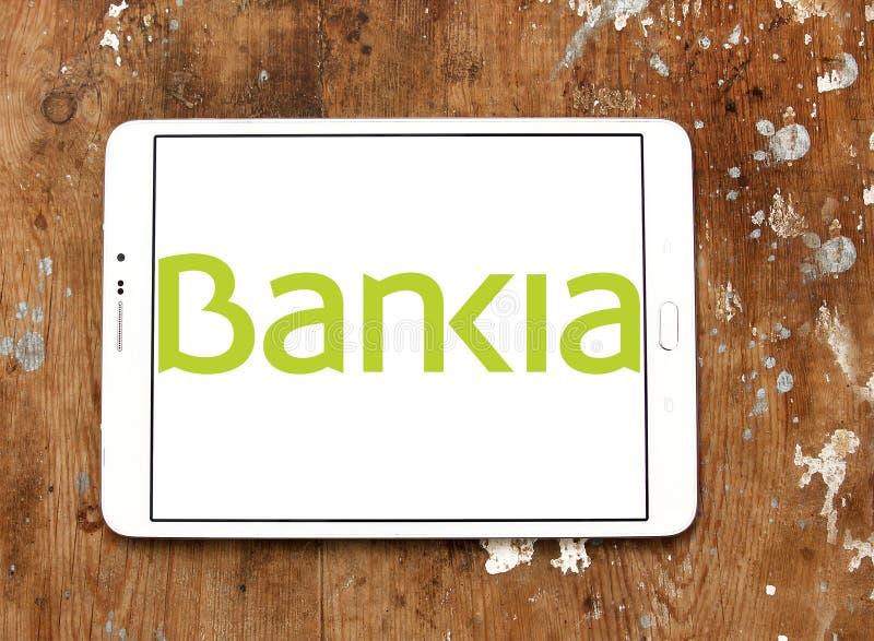 Bankia西班牙银行商标 免版税库存图片