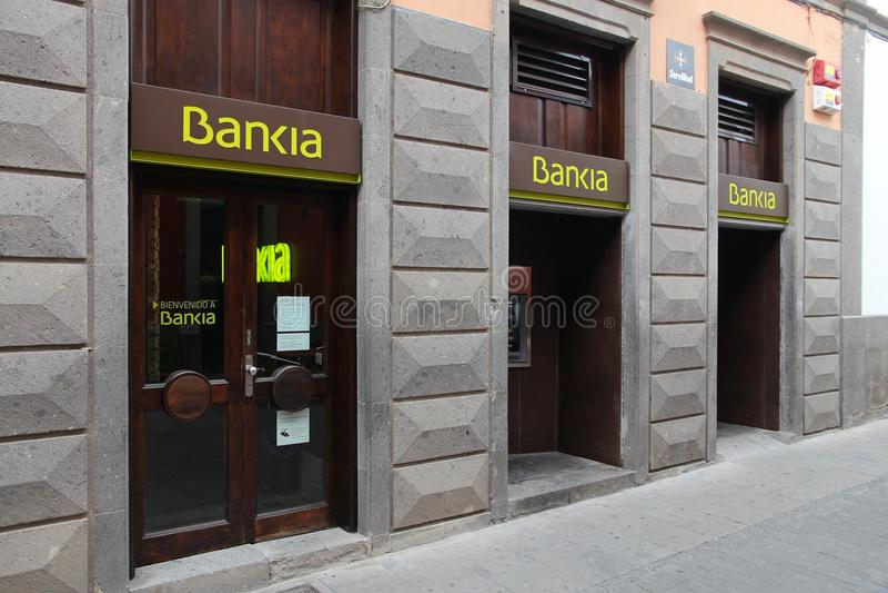 Bankia στοκ εικόνα