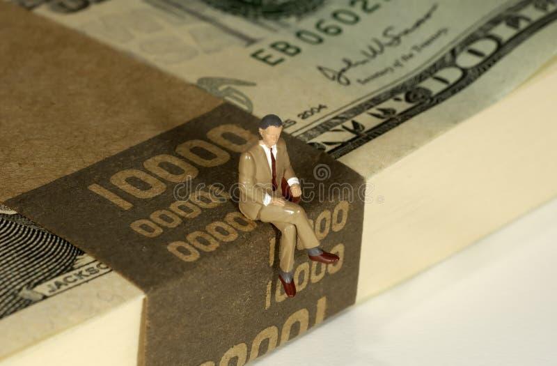 bankier. obraz stock