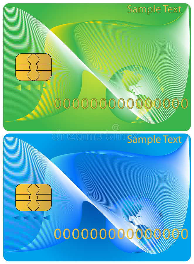 Download Banking card stock vector. Image of illustration, gold - 4160723