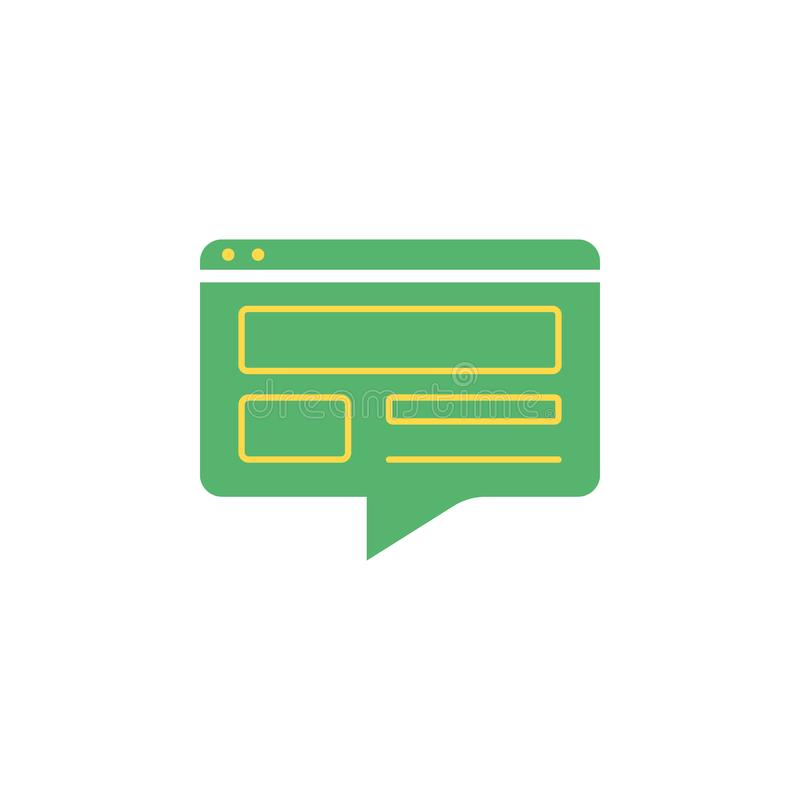 Banking, conversation icon. Element of Web Money and Banking icon for mobile concept and web apps. Detailed Banking, conversation vector illustration