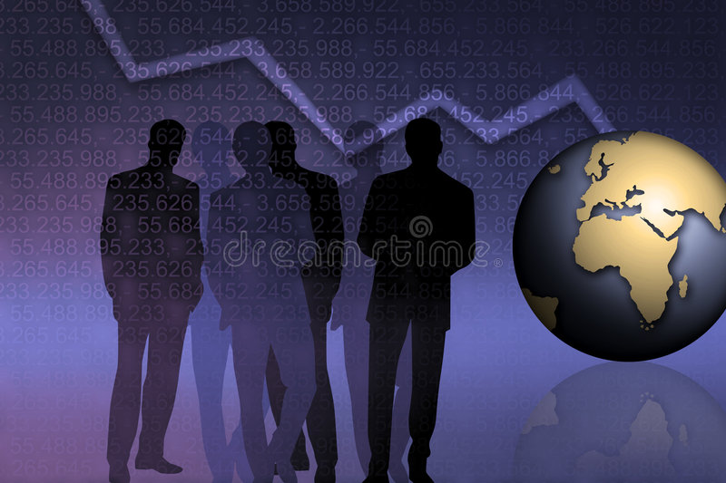Download Banking Managers stock illustration. Image of amount, crime - 6963955