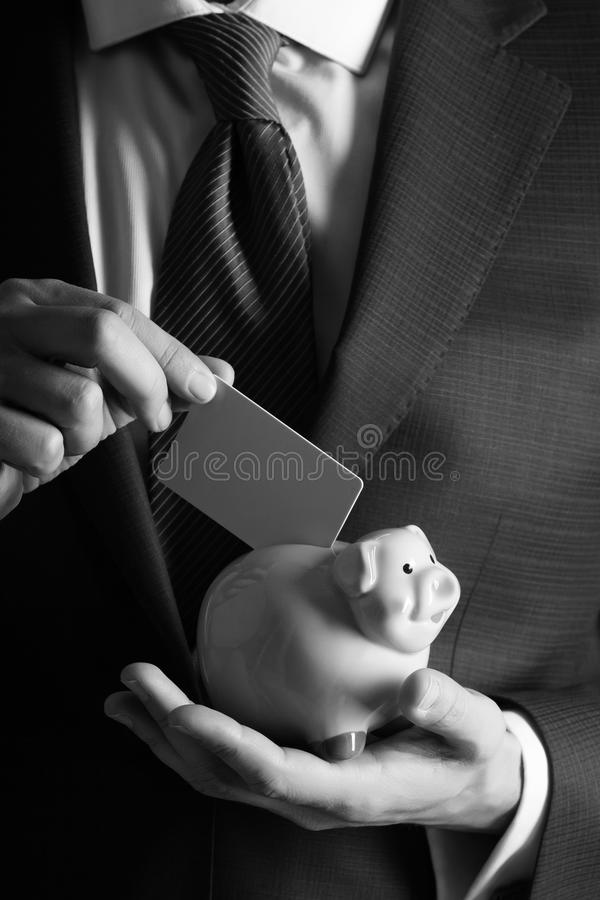 Banking, money, loan, moneybox, ecash and information royalty free stock images