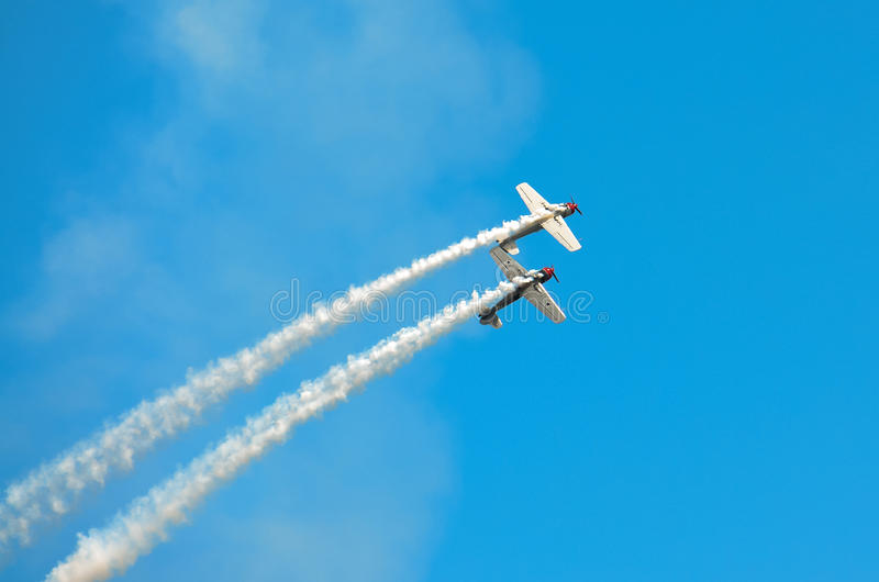 Download Banking Stunt Planes stock image. Image of planes, show - 59055339