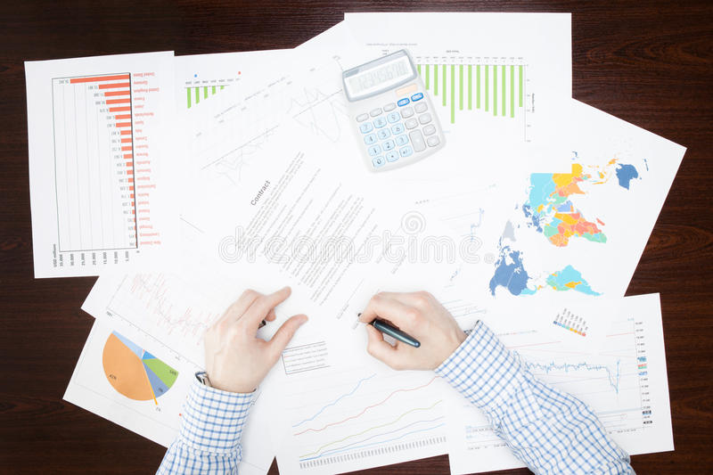 Banking, taxing and all things related with world of finance stock photography
