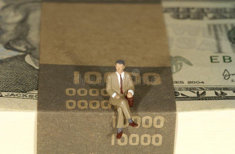bankir arkivbild