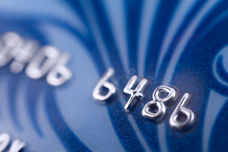 Bankkaart, macro royalty-vrije stock fotografie