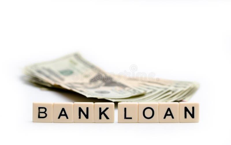 Banklening royalty-vrije stock afbeelding