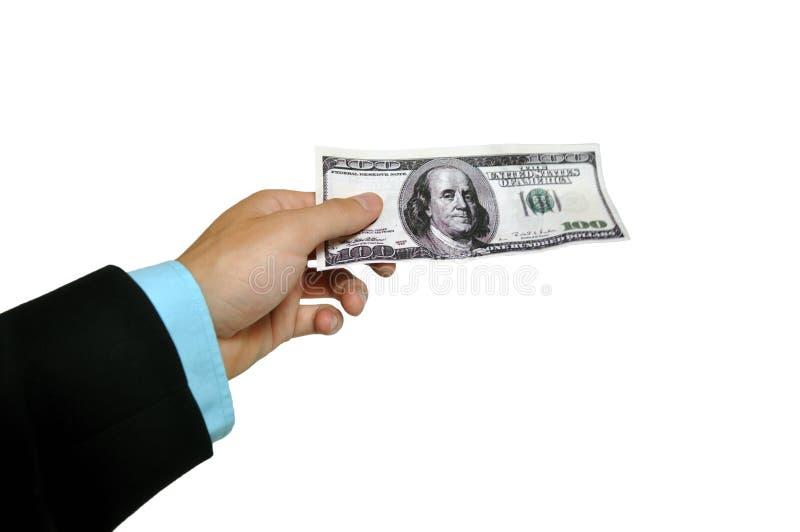 Banknote Handover Stock Photos