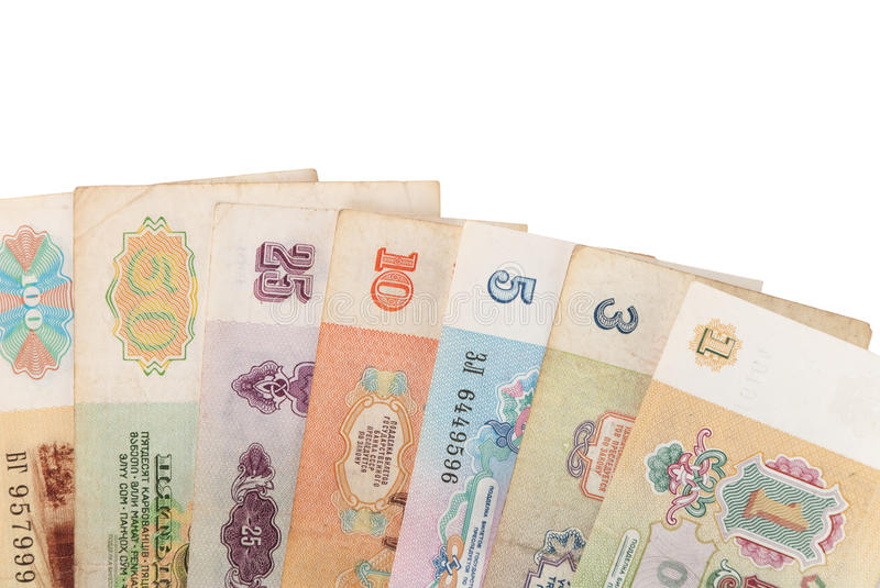 Download Banknote soviet union stock image. Image of symbol, banknotes - 24846335