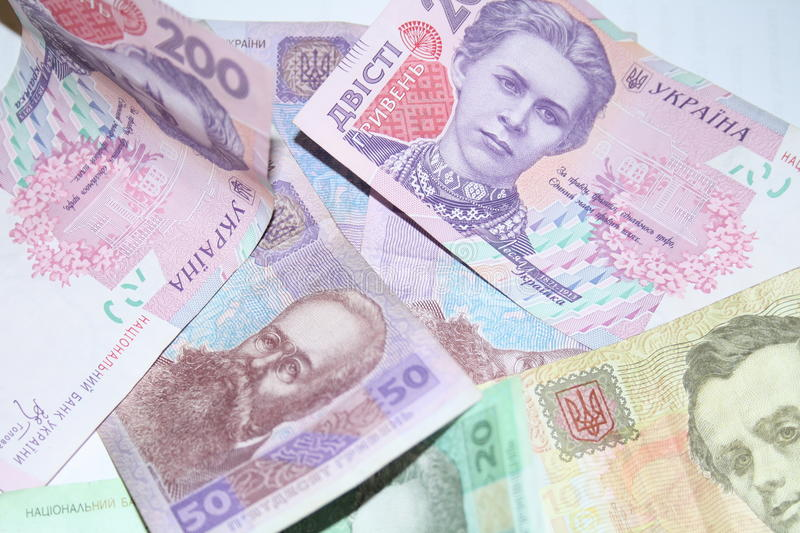 Banknotes background stock photo