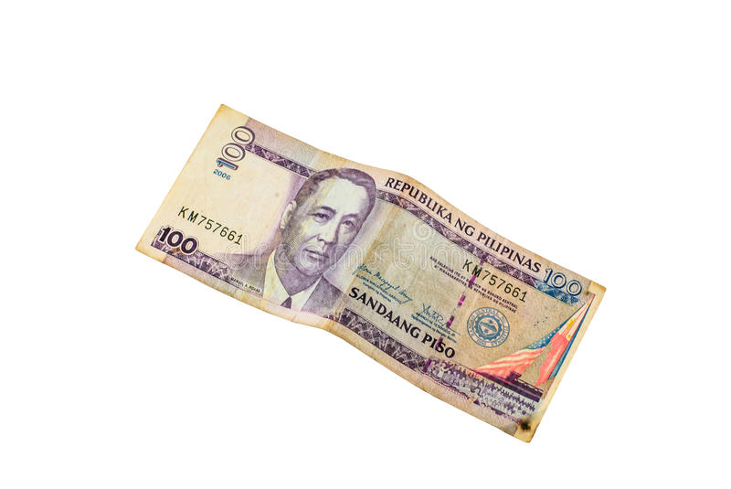 Banknotes of the Philippines. stock photo