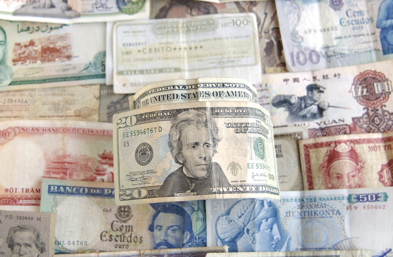 Banknotes from the World and the US