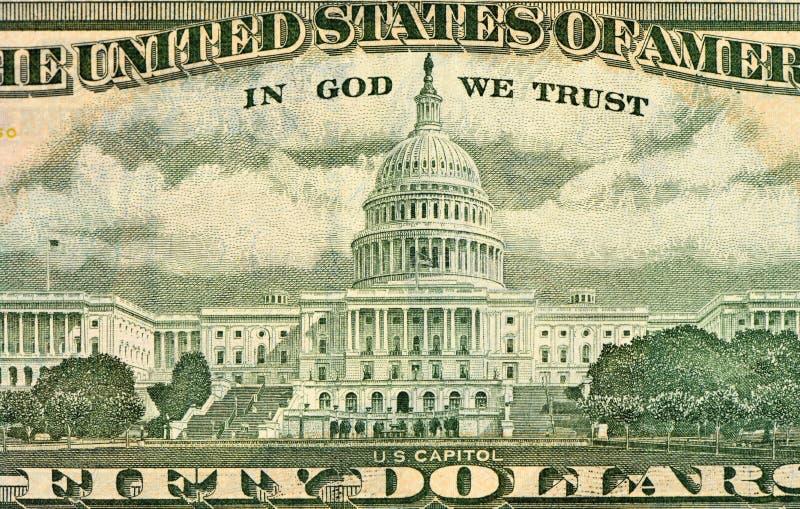 banknotu czarny dolarów pięćdziesiąt dotacja odizolowywał obrazka portret s Ulysses my biały Użycza twarz na USA pięćdziesiąt lub zdjęcie stock