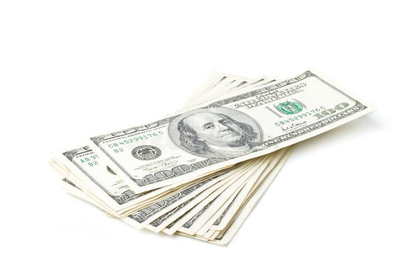 banknoty dolarowi obraz stock